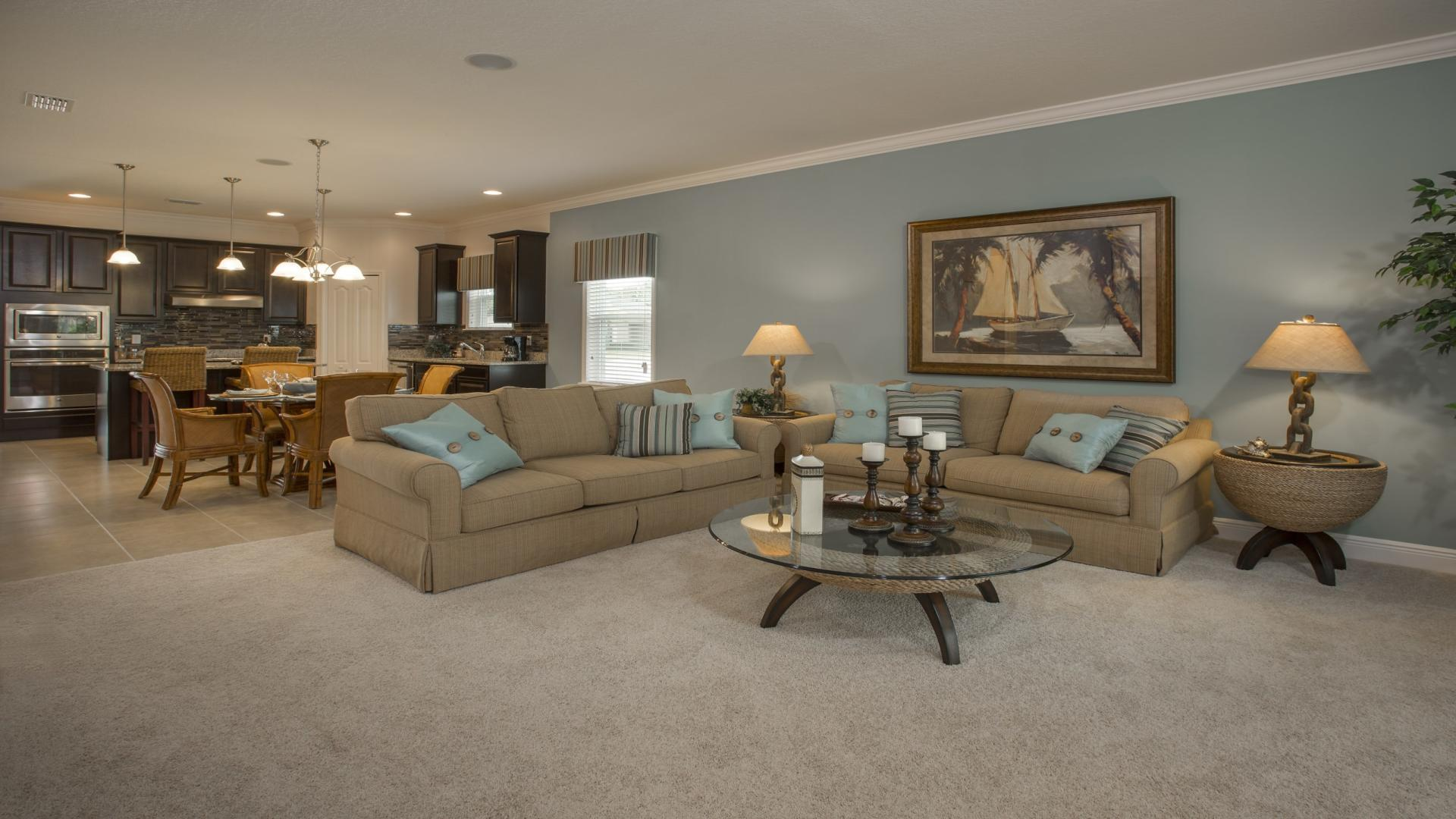 Living Area featured in the Hampton By Maronda Homes in Gainesville, FL