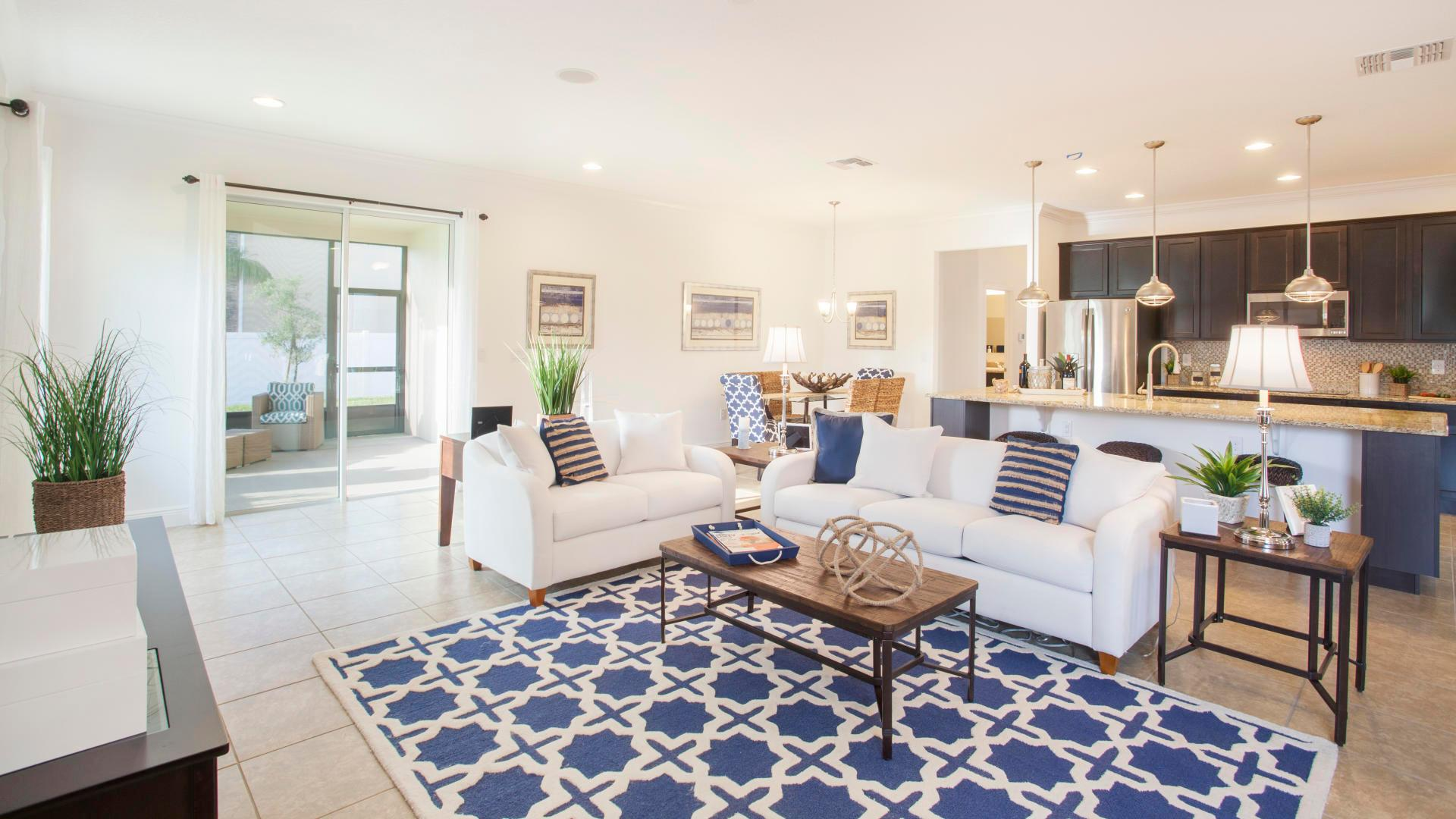 Living Area featured in the Melody By Maronda Homes in Melbourne, FL