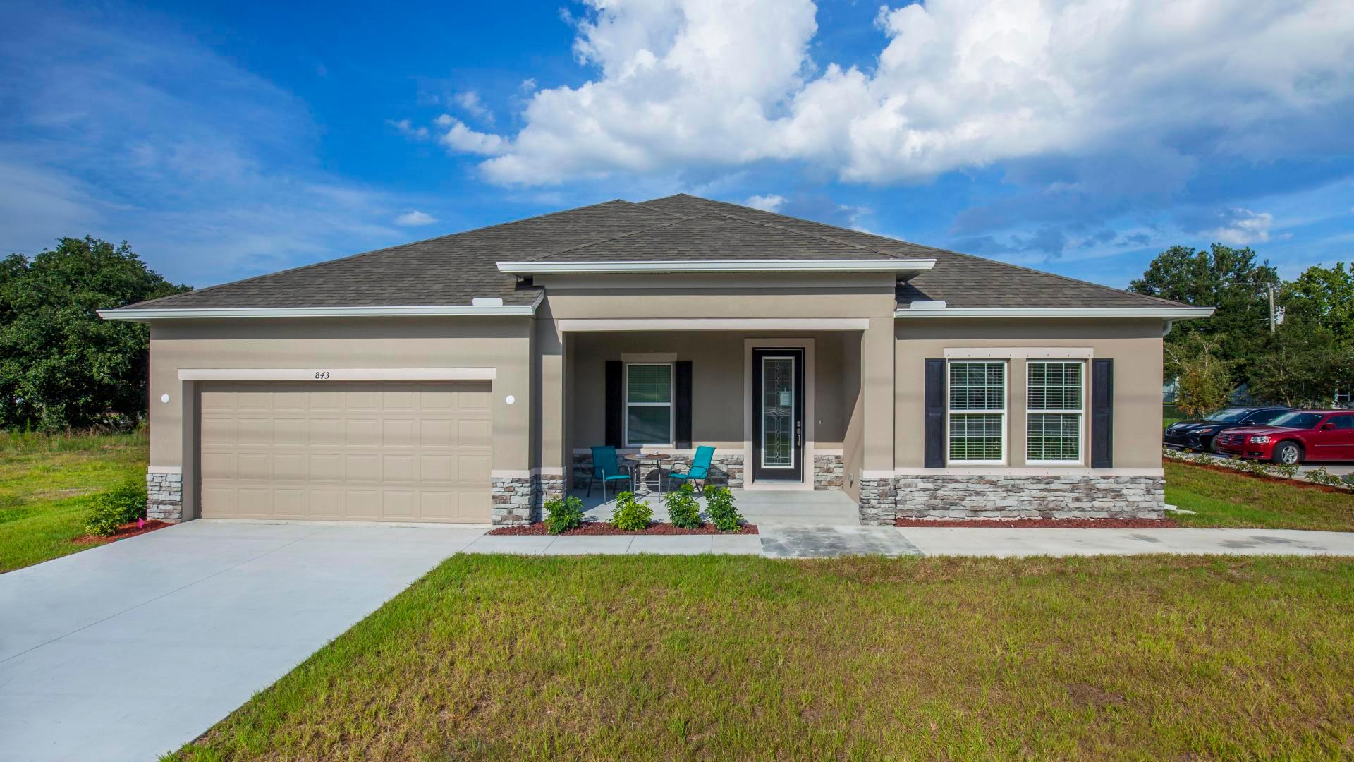 Exterior featured in the Wilmington By Maronda Homes in Ocala, FL
