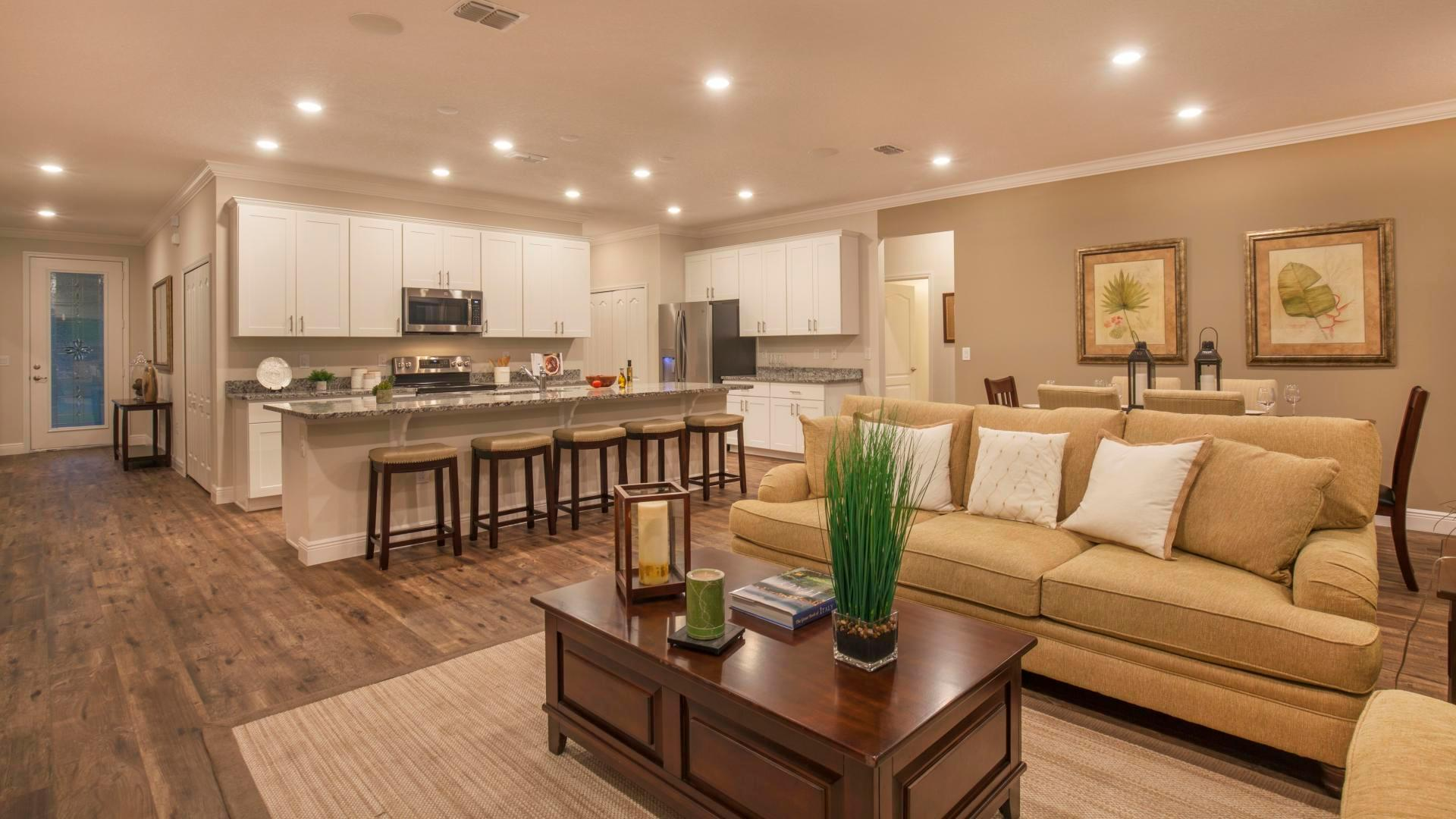 Living Area featured in the Wilmington By Maronda Homes in Punta Gorda, FL