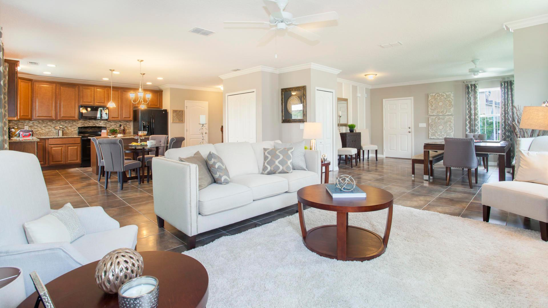 Living Area featured in the Rockford By Maronda Homes in Daytona Beach, FL