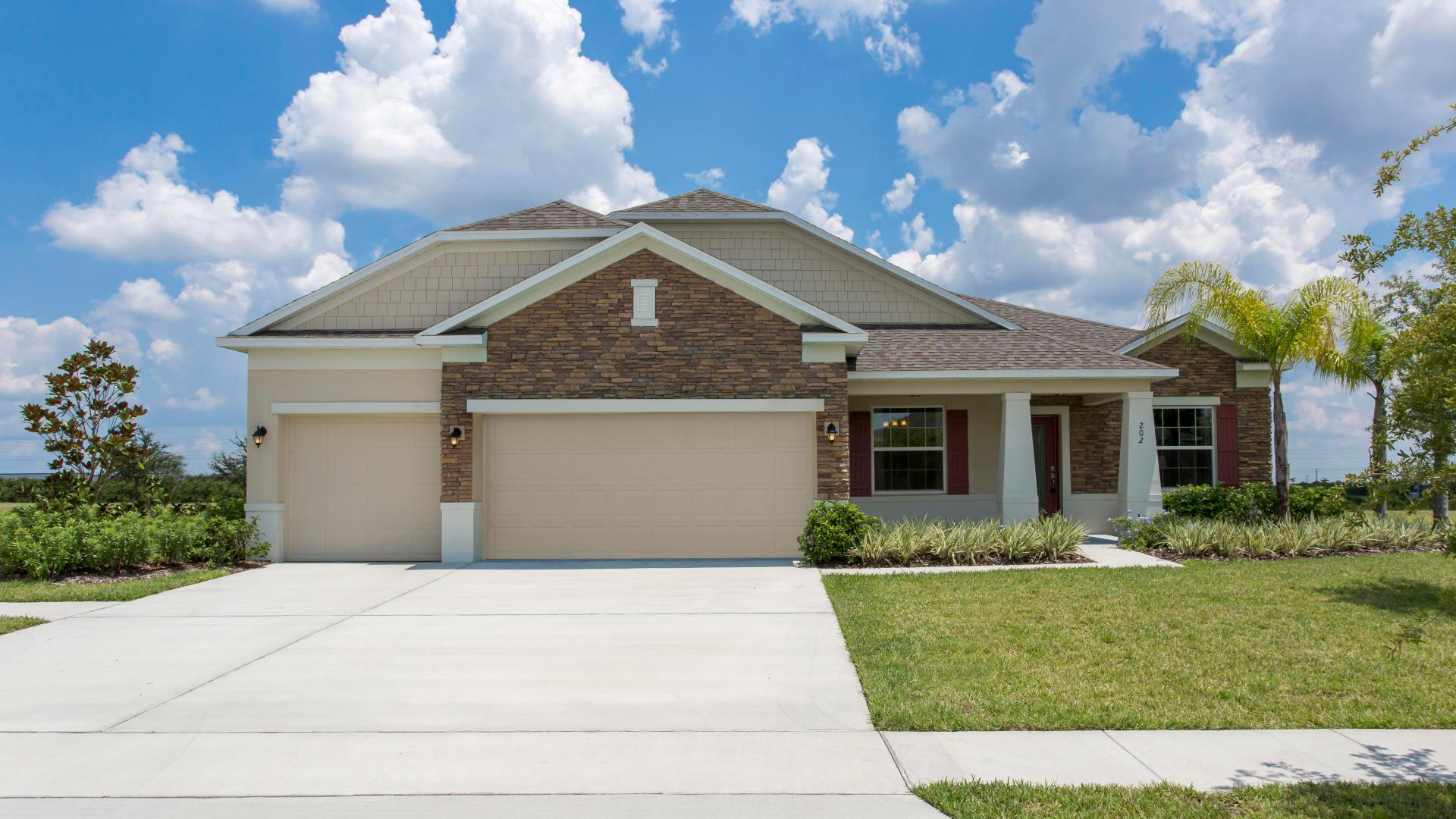 Exterior featured in the Sierra By Maronda Homes in Punta Gorda, FL