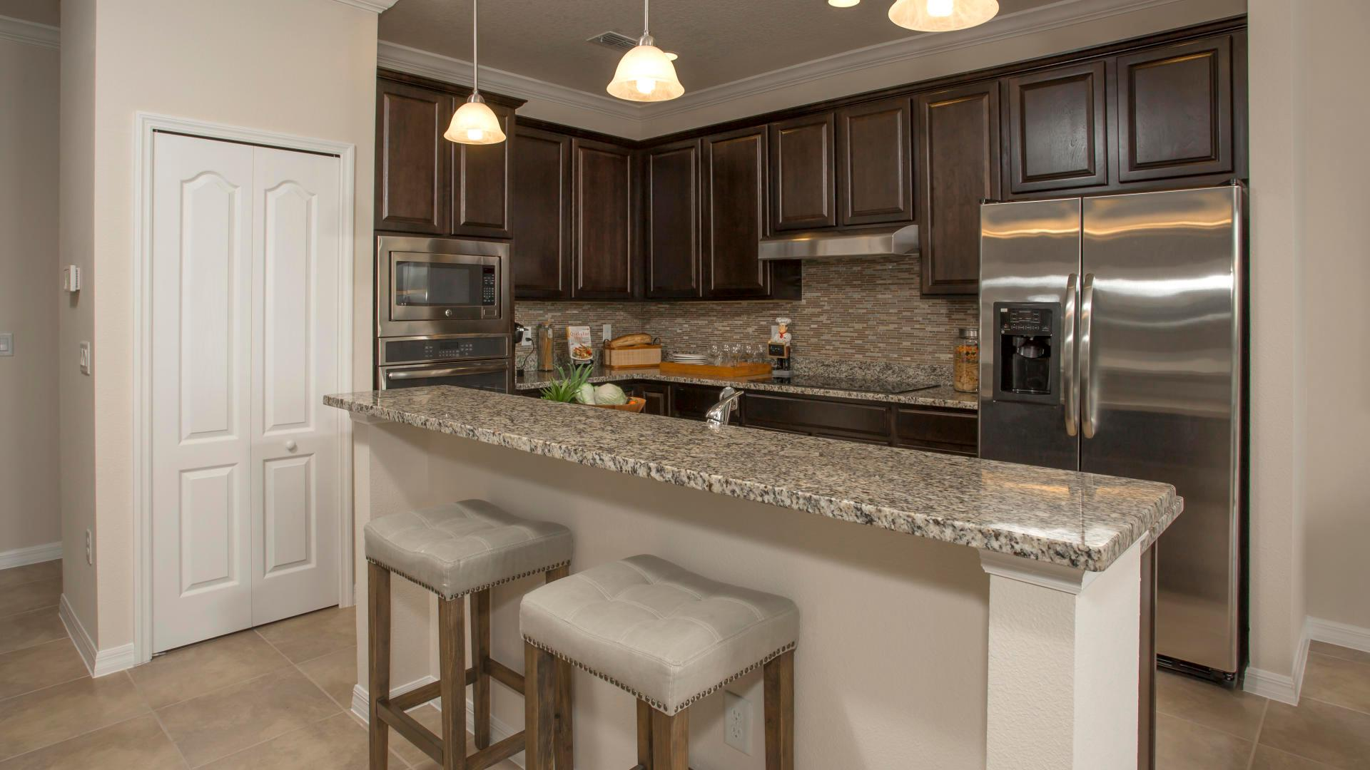 Kitchen featured in the Sierra By Maronda Homes in Indian River County, FL