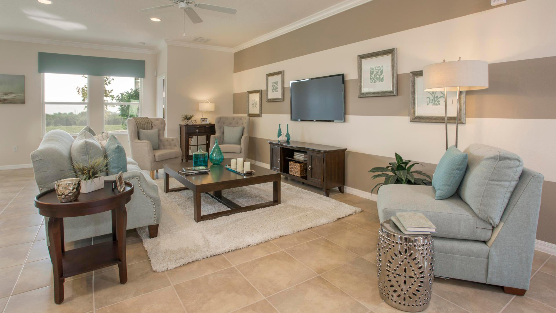 Living Area featured in the Sierra By Maronda Homes in Indian River County, FL
