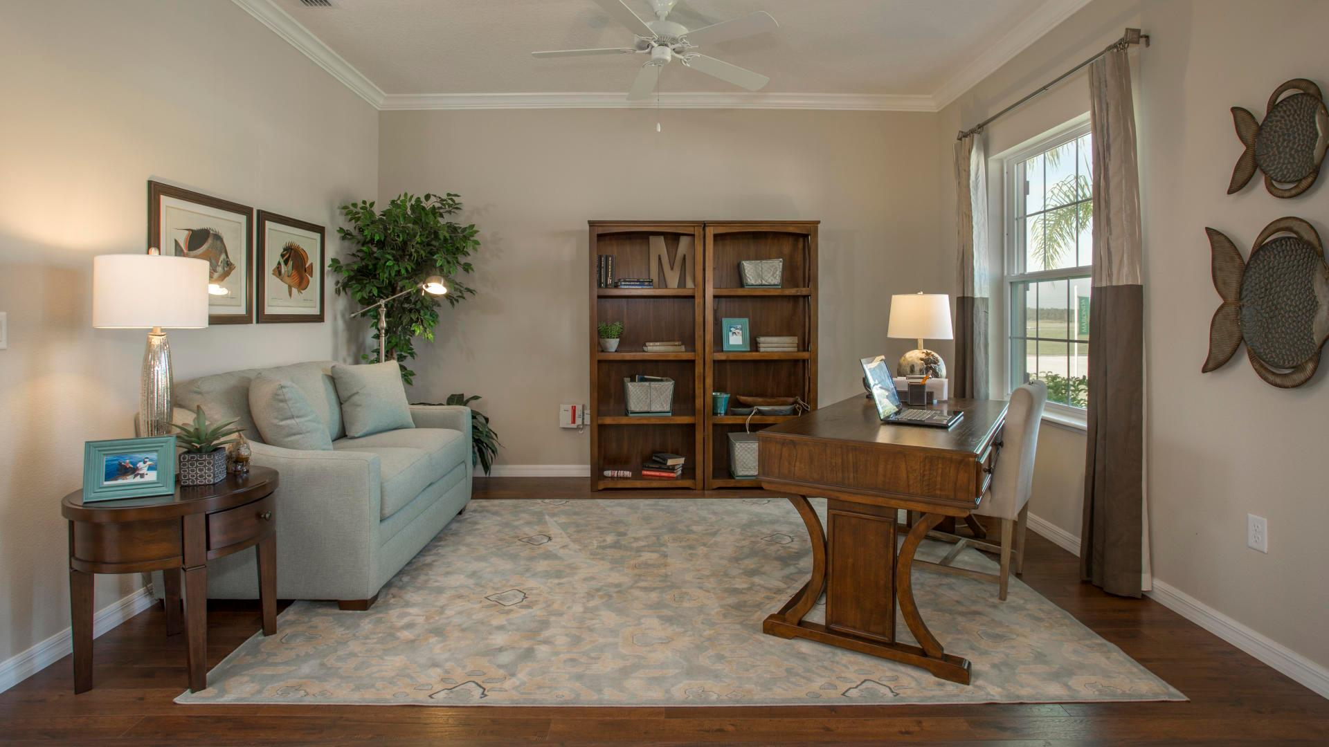 Living Area featured in the Sierra By Maronda Homes in Punta Gorda, FL