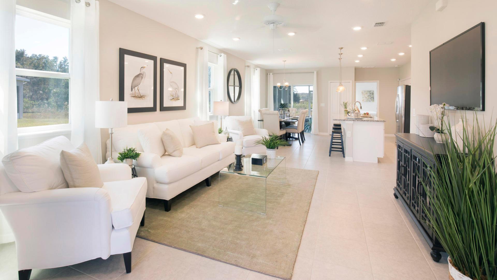 Living Area featured in the Valencia By Maronda Homes in Daytona Beach, FL