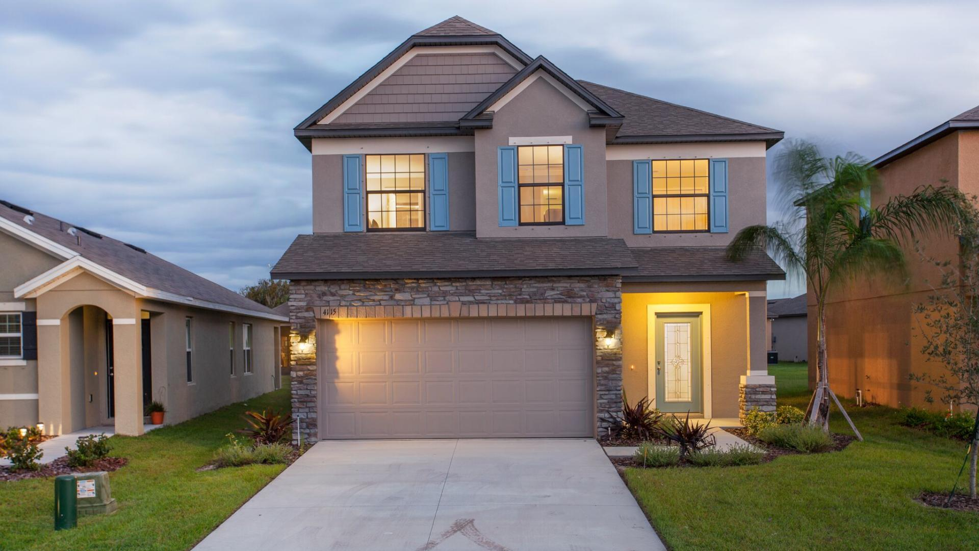 Exterior featured in the Abington By Maronda Homes in Martin-St. Lucie-Okeechobee Counties, FL