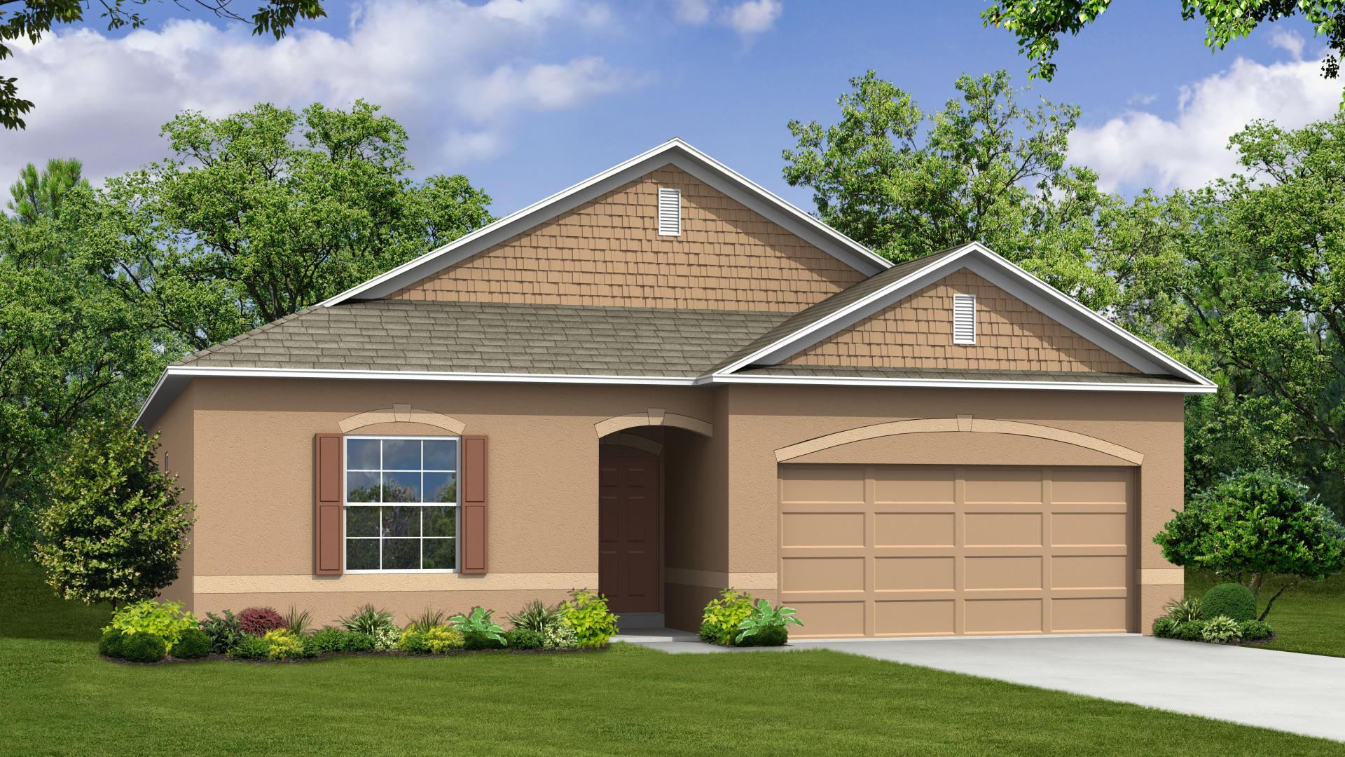 Exterior featured in the Avella By Maronda Homes in Melbourne, FL