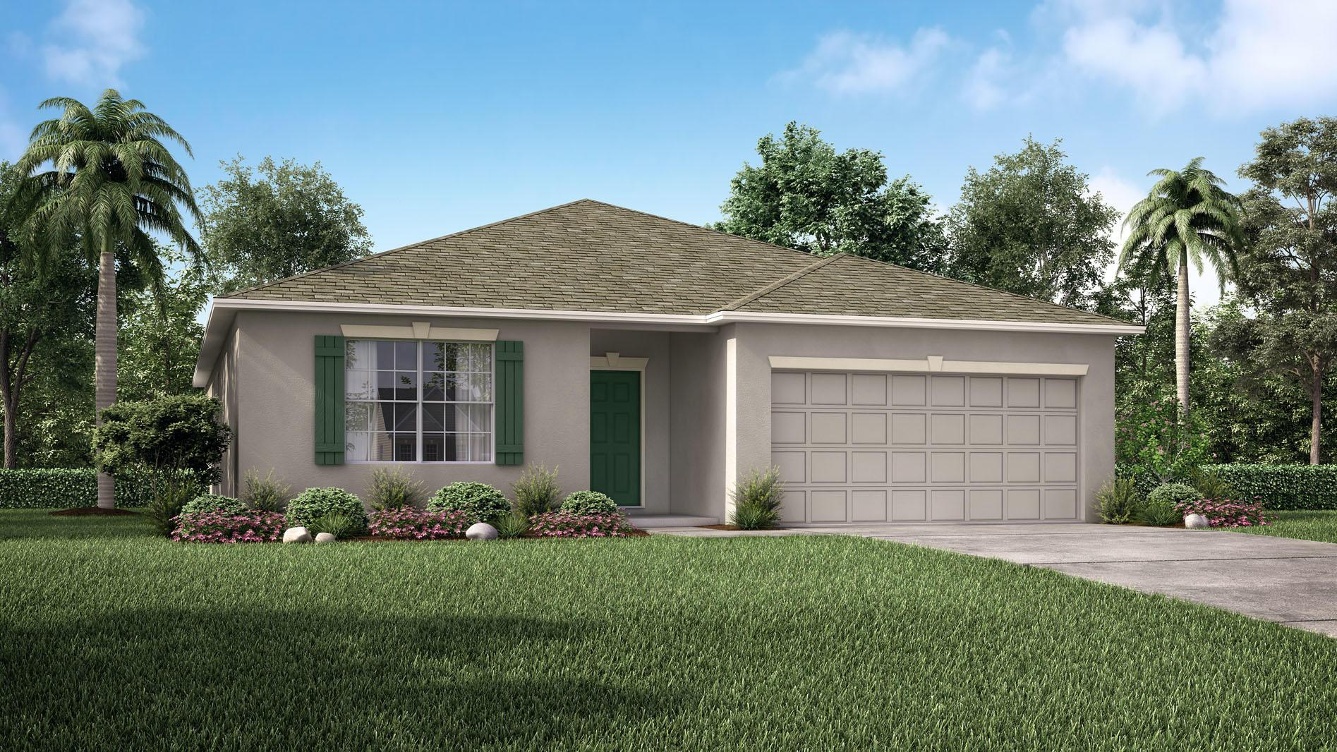 Exterior featured in the Arlington By Maronda Homes in Jacksonville-St. Augustine, FL