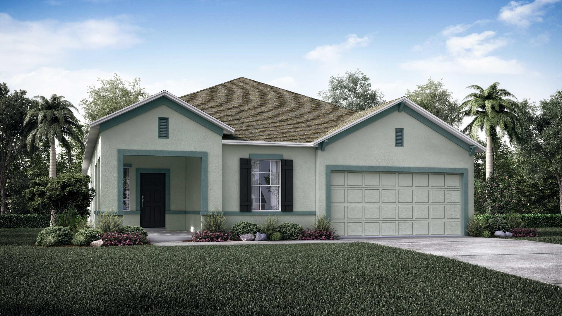 Exterior featured in the Ashton By Maronda Homes in Punta Gorda, FL