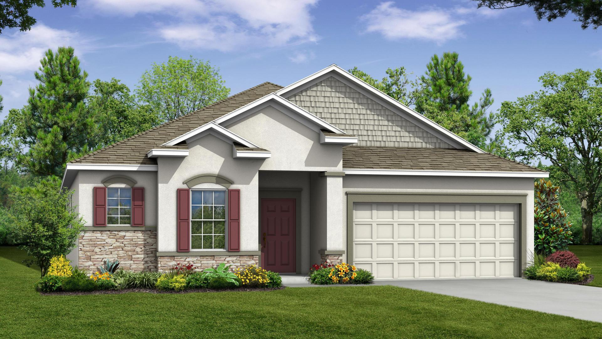 Exterior featured in the Drexel By Maronda Homes in Punta Gorda, FL