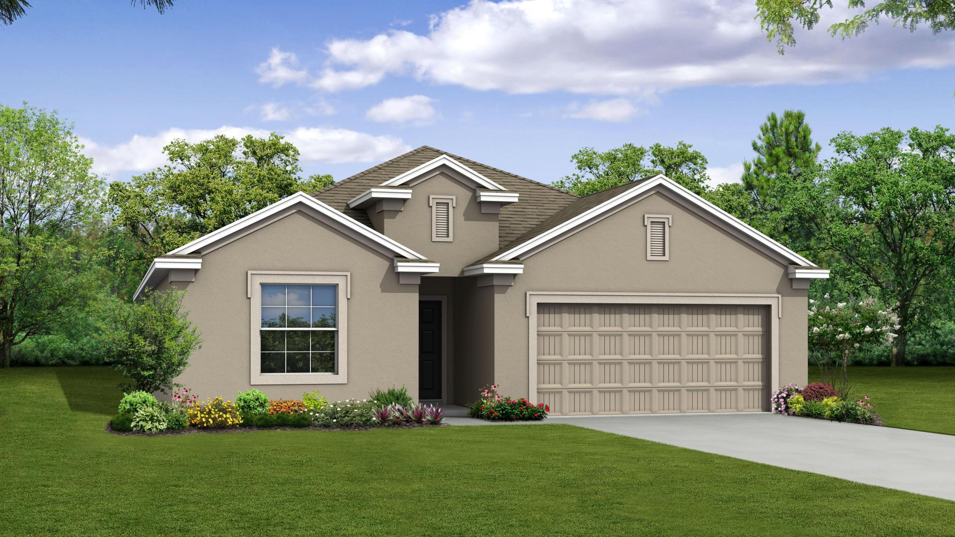 Exterior featured in the Miramar By Maronda Homes in Tampa-St. Petersburg, FL