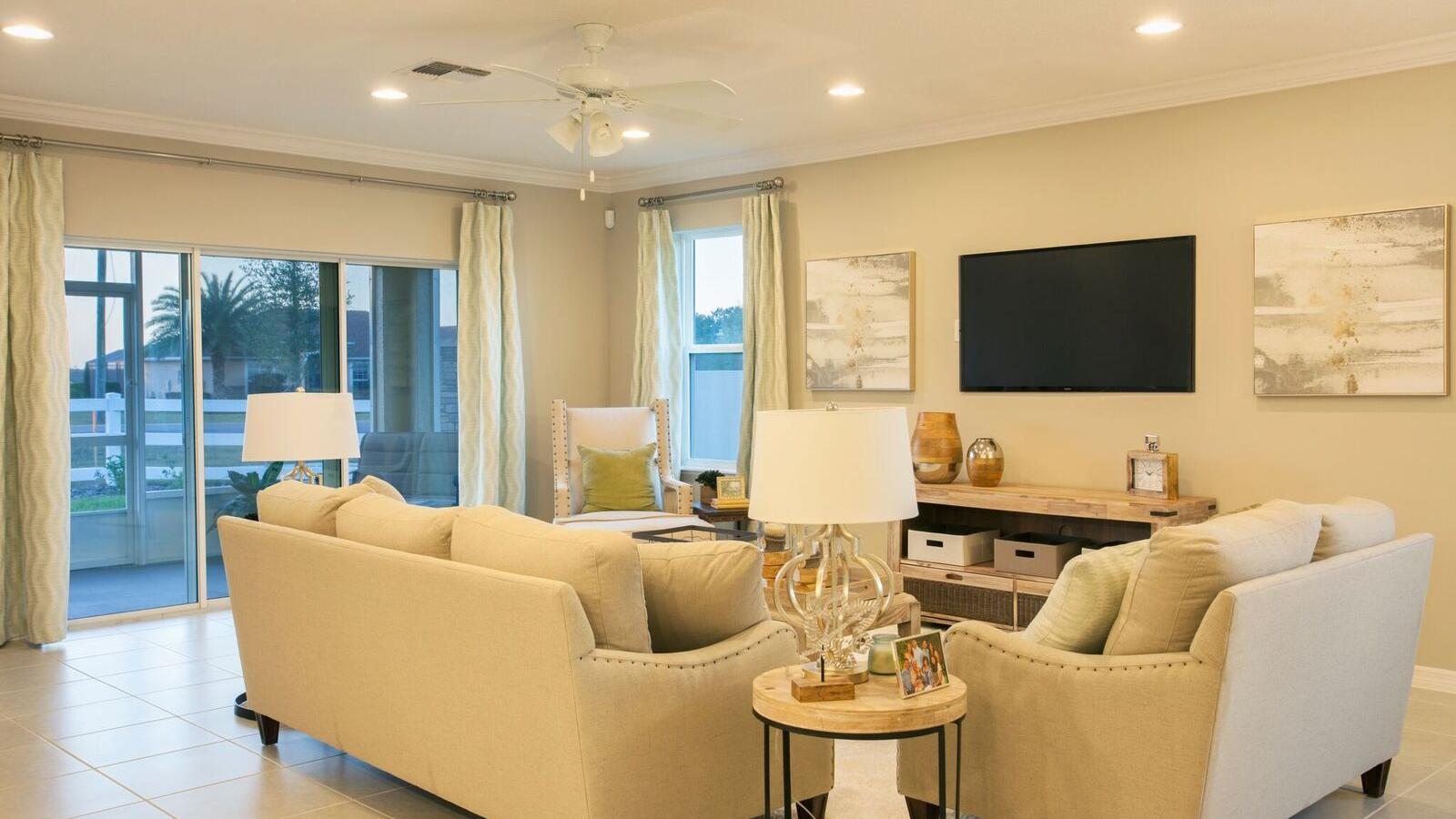 Living Area featured in the Miramar By Maronda Homes in Lakeland-Winter Haven, FL