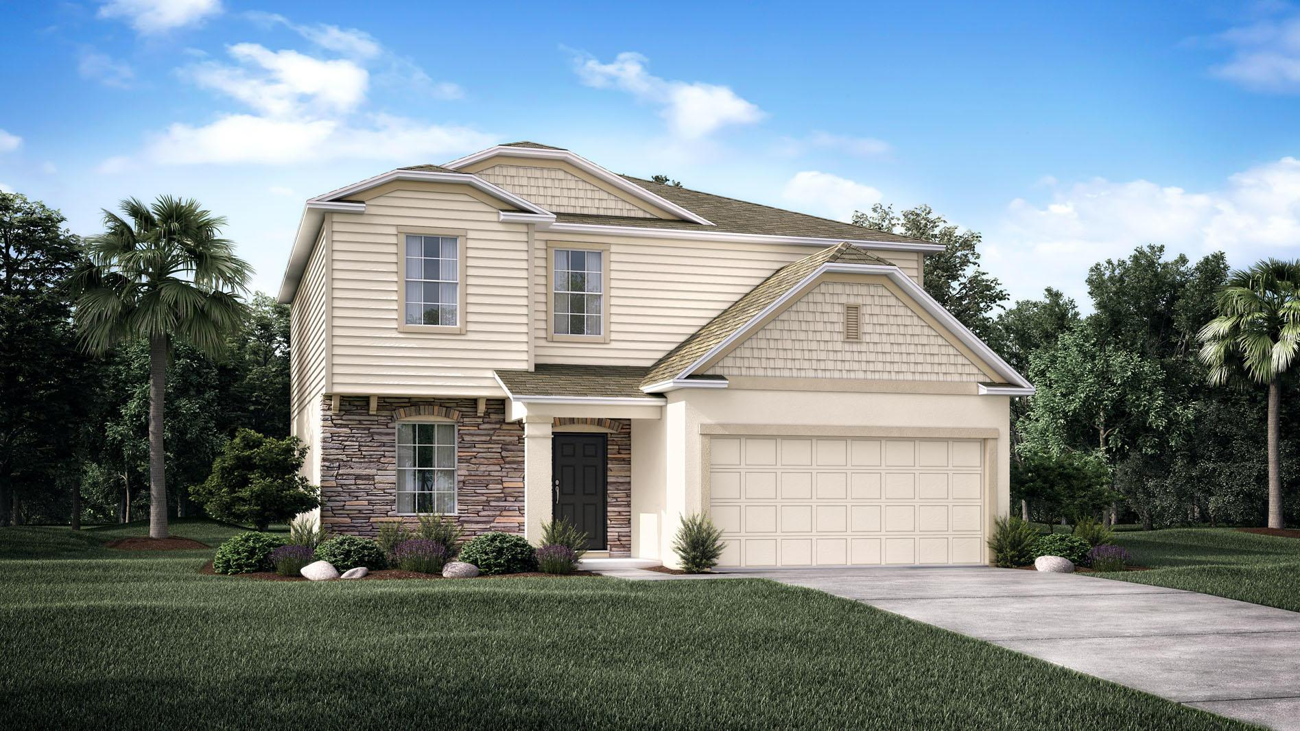 Exterior featured in the Rockford By Maronda Homes in Punta Gorda, FL