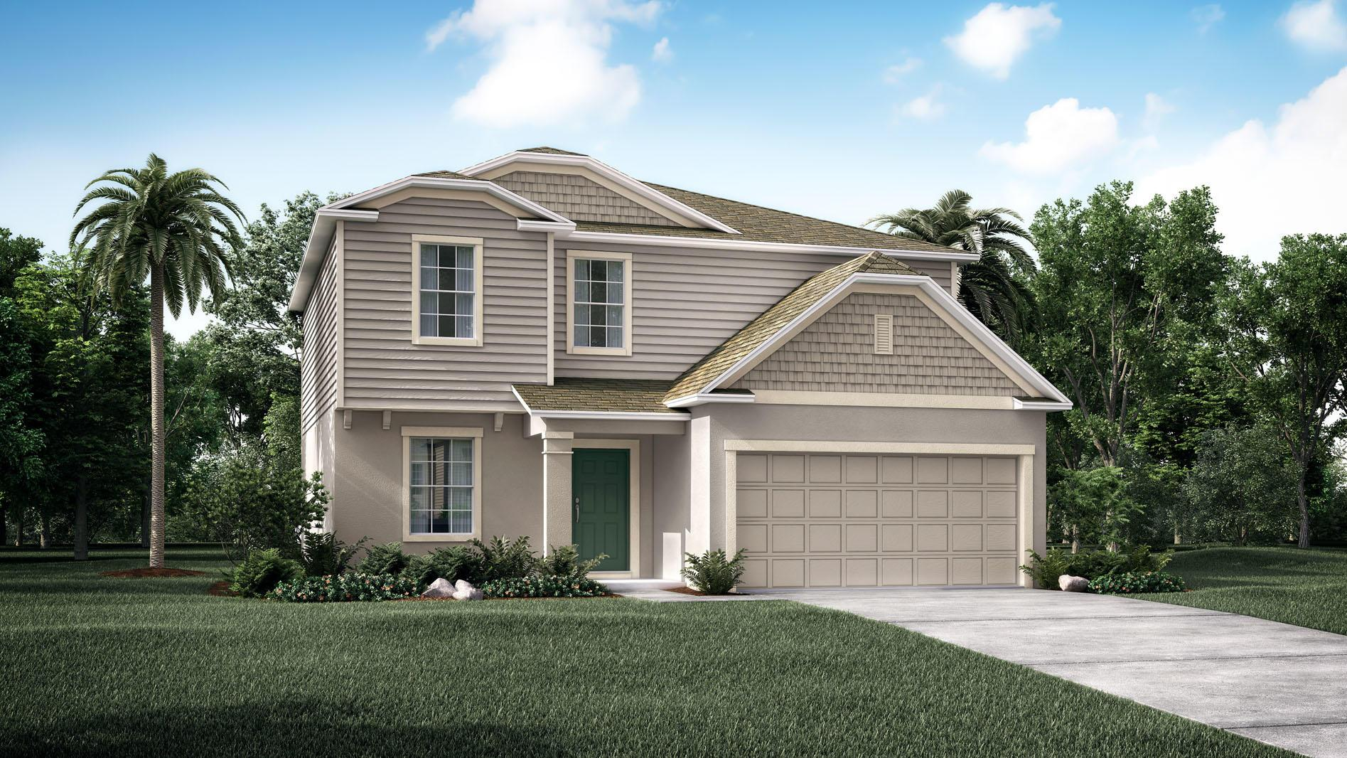 Exterior featured in the Rockford By Maronda Homes in Melbourne, FL