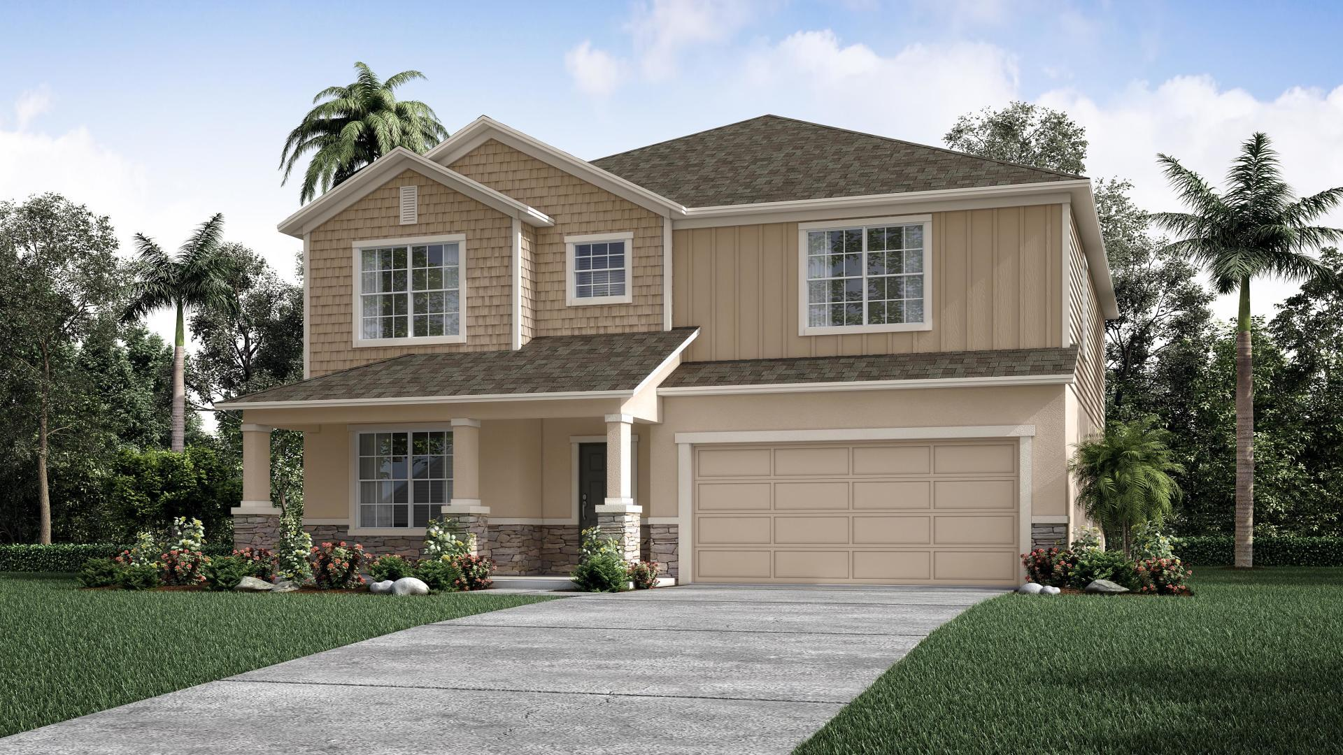 Exterior featured in the Carlisle By Maronda Homes in Sarasota-Bradenton, FL
