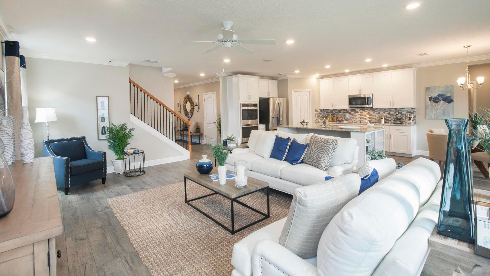 Living Area featured in the Carlisle By Maronda Homes in Tampa-St. Petersburg, FL