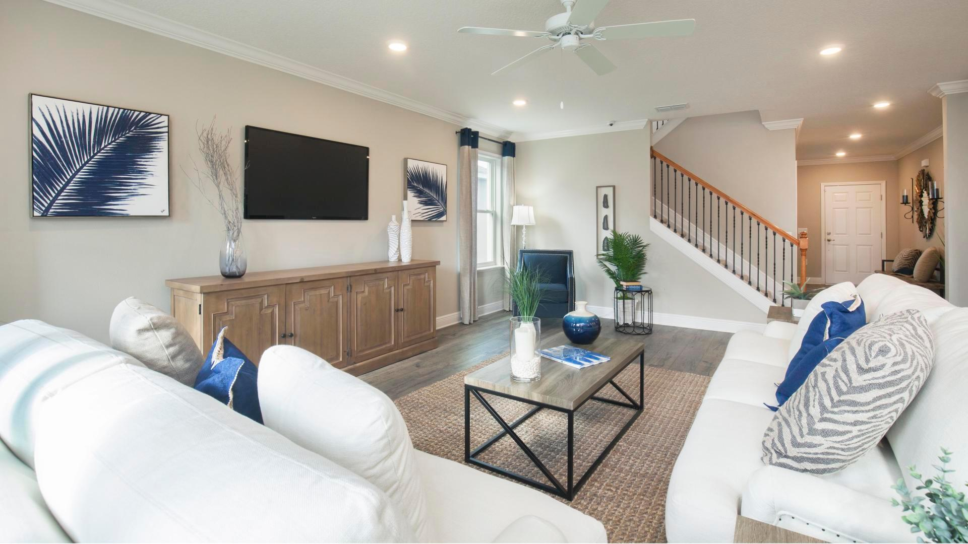 Living Area featured in the Carlisle By Maronda Homes in Daytona Beach, FL
