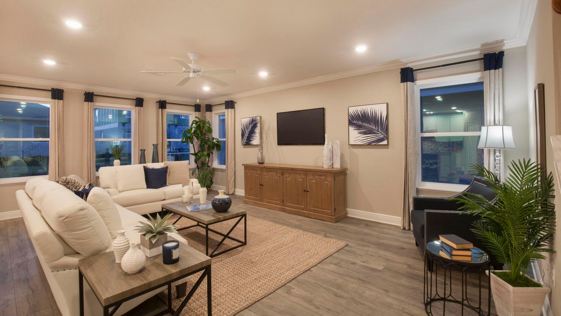 Living Area featured in the Carlisle By Maronda Homes in Gainesville, FL
