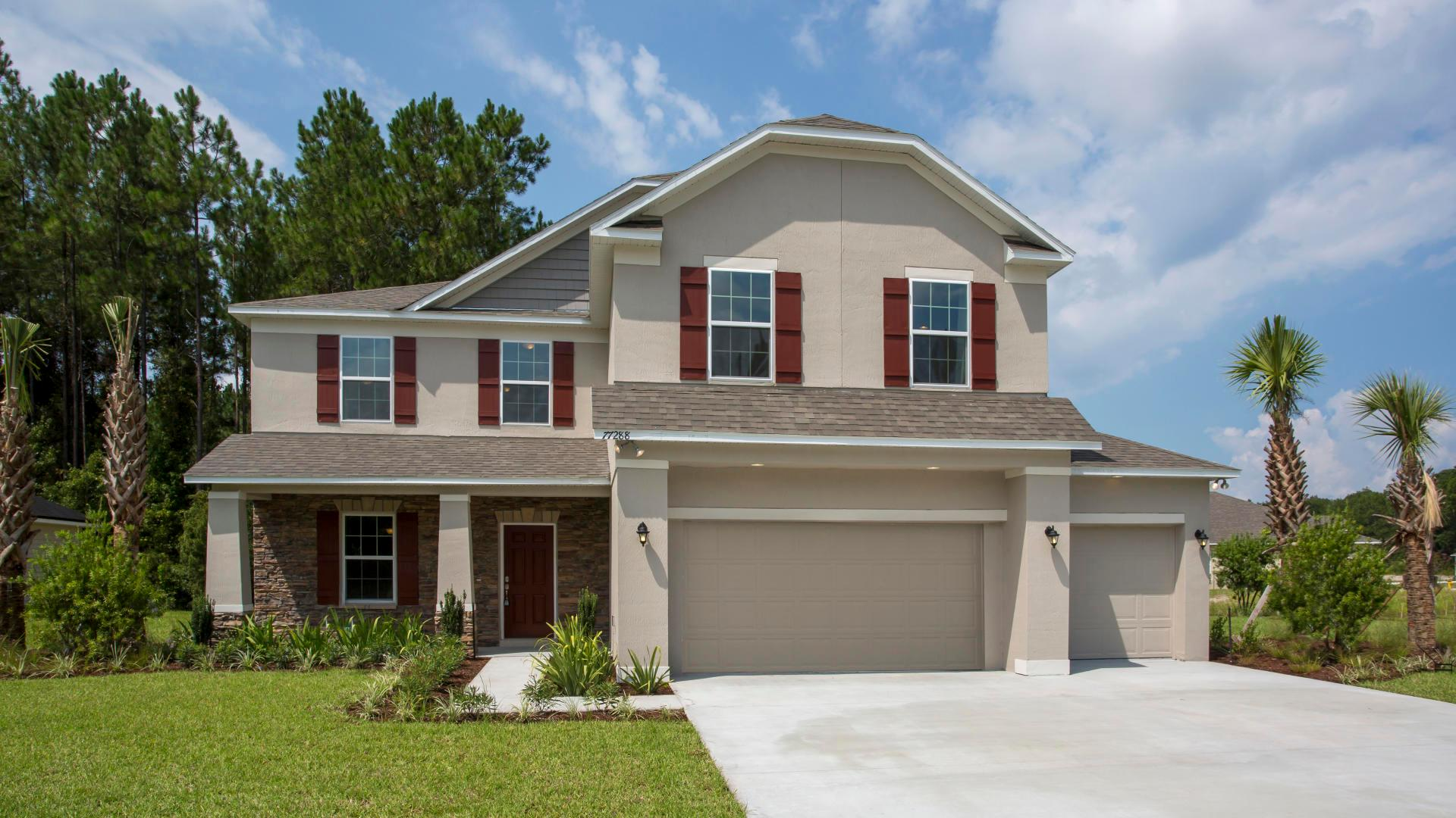 Exterior featured in the Baybury By Maronda Homes in Punta Gorda, FL