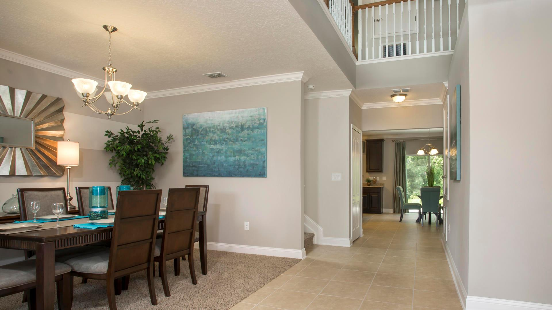 Living Area featured in the Baybury By Maronda Homes in Gainesville, FL