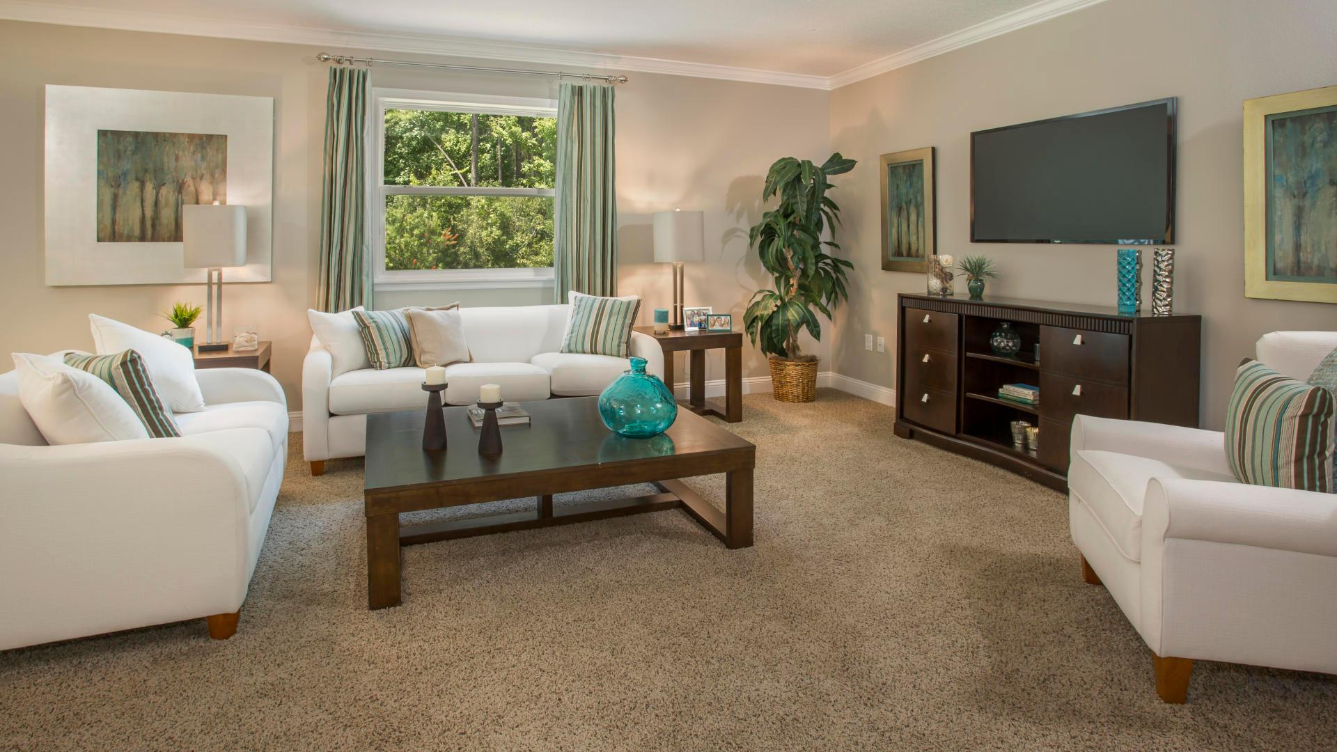 Living Area featured in the Baybury By Maronda Homes in Daytona Beach, FL