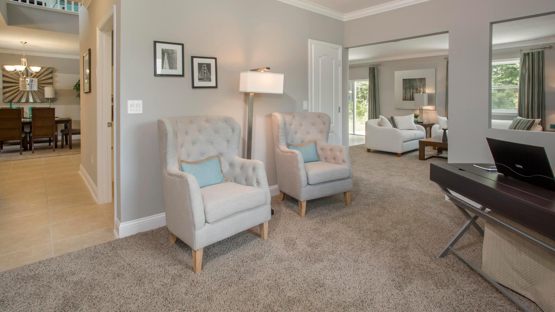 Living Area featured in the Baybury By Maronda Homes in Naples, FL
