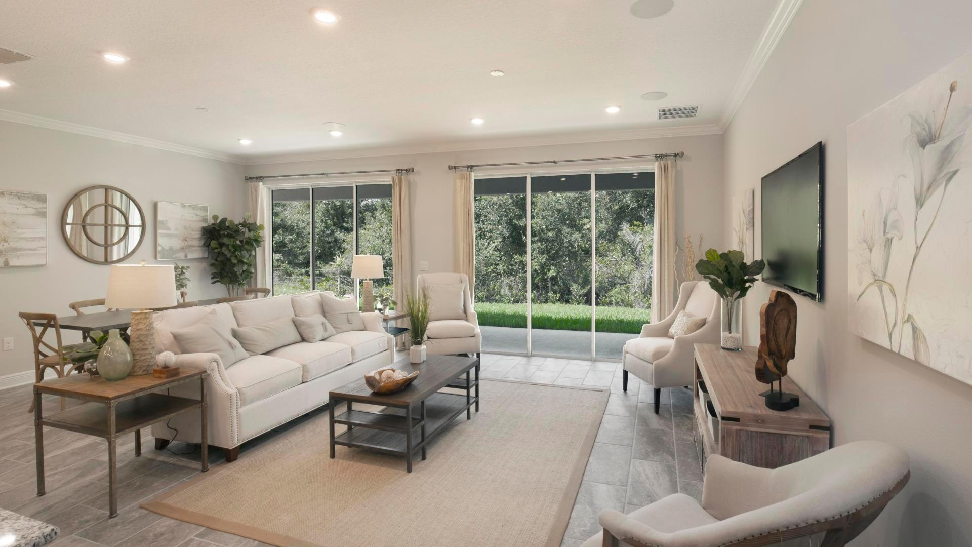 Living Area featured in the Huntington By Maronda Homes in Daytona Beach, FL