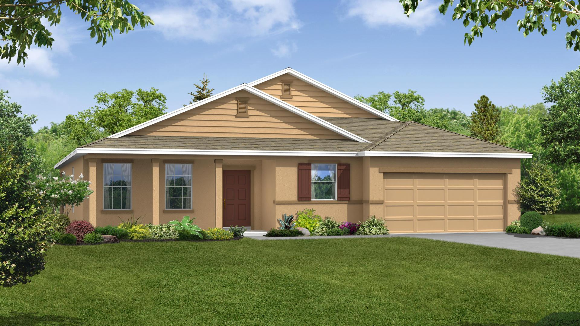 Exterior featured in the Harmony By Maronda Homes in Melbourne, FL