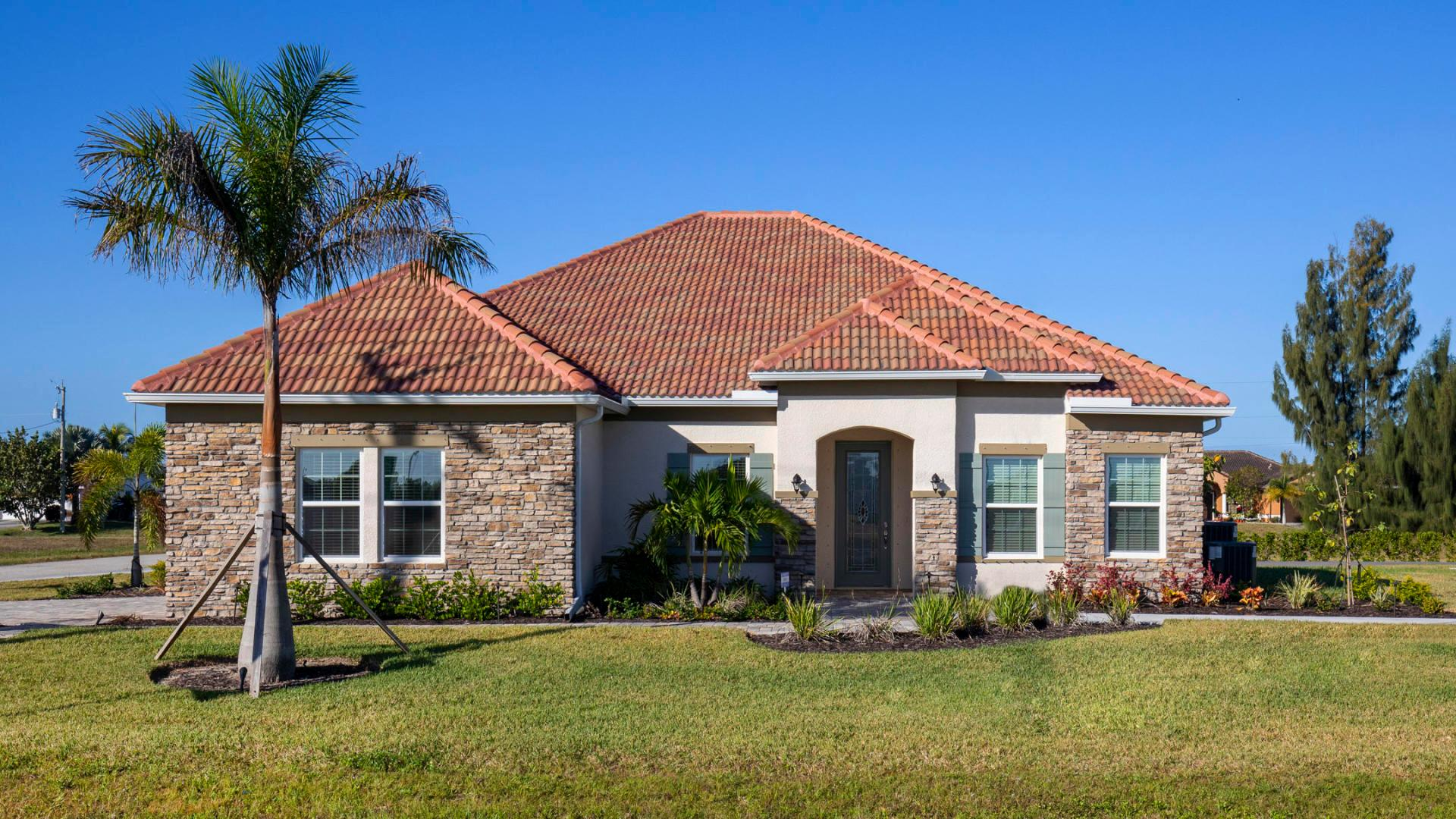 Exterior featured in the Venice By Maronda Homes in Tampa-St. Petersburg, FL