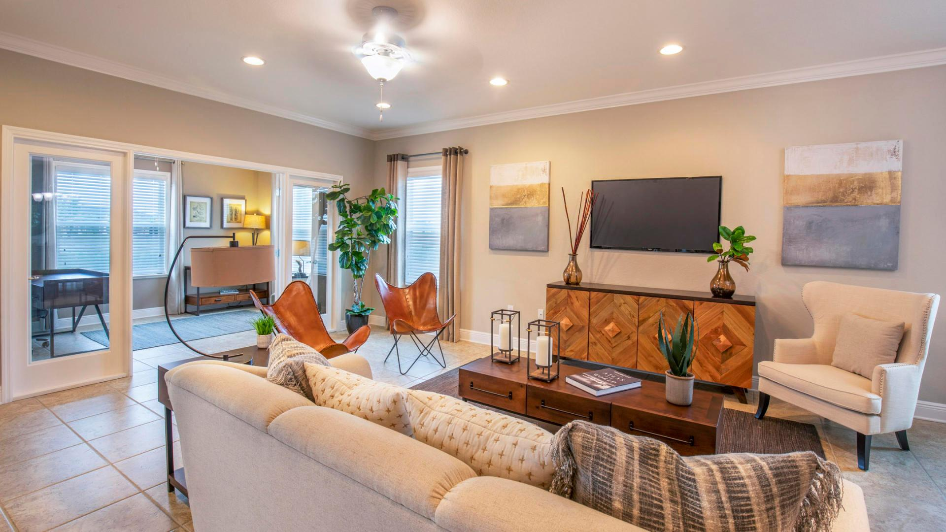 Living Area featured in the Venice By Maronda Homes in Orlando, FL