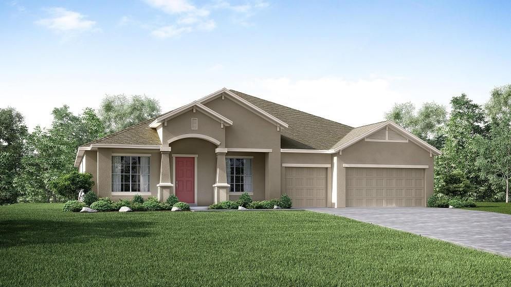 Exterior featured in the Sienna By Maronda Homes in Tampa-St. Petersburg, FL