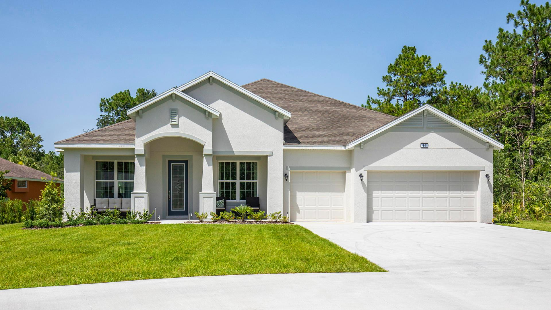 Exterior featured in the Sienna By Maronda Homes in Daytona Beach, FL