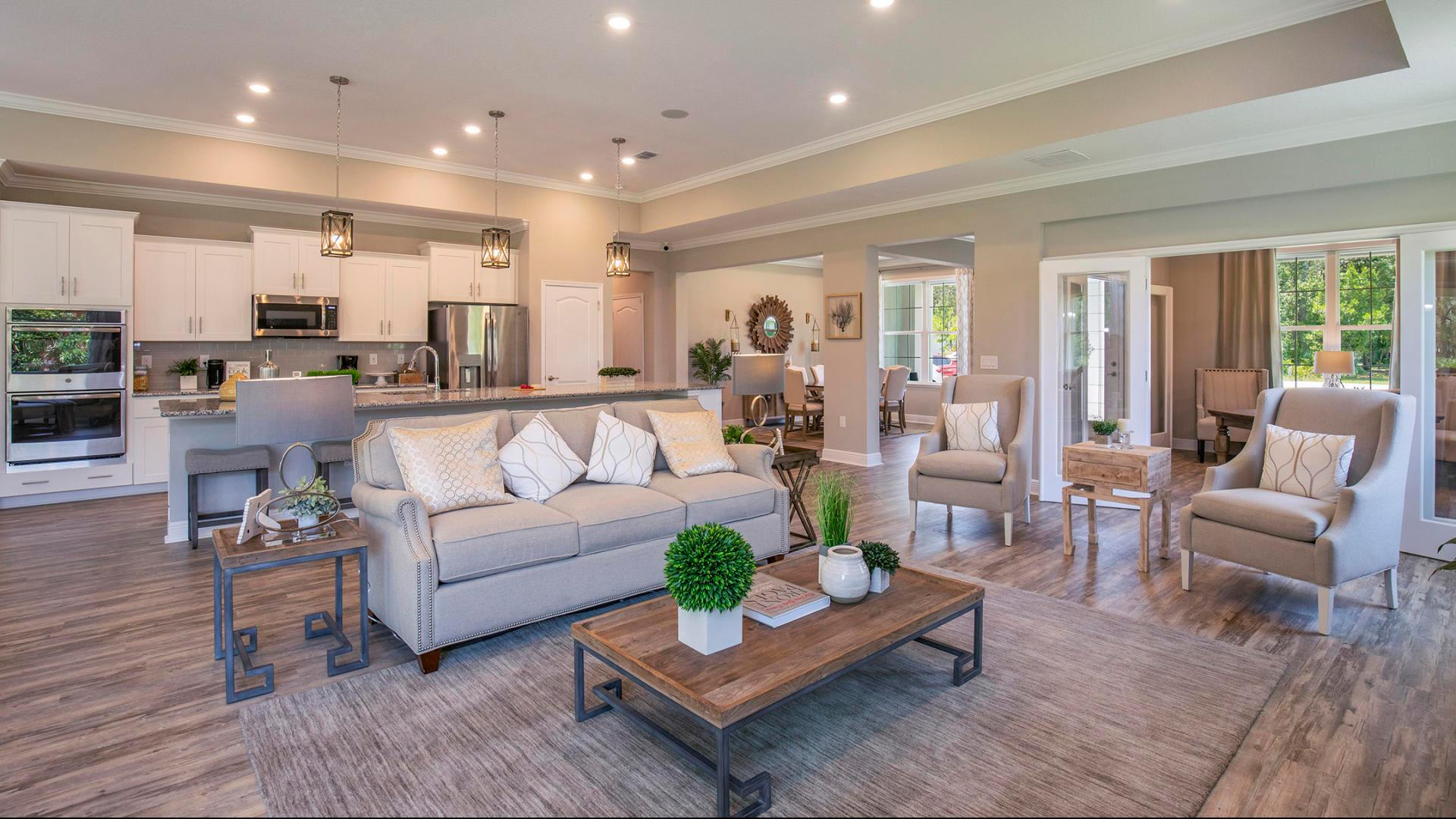 Living Area featured in the Sienna By Maronda Homes in Tampa-St. Petersburg, FL