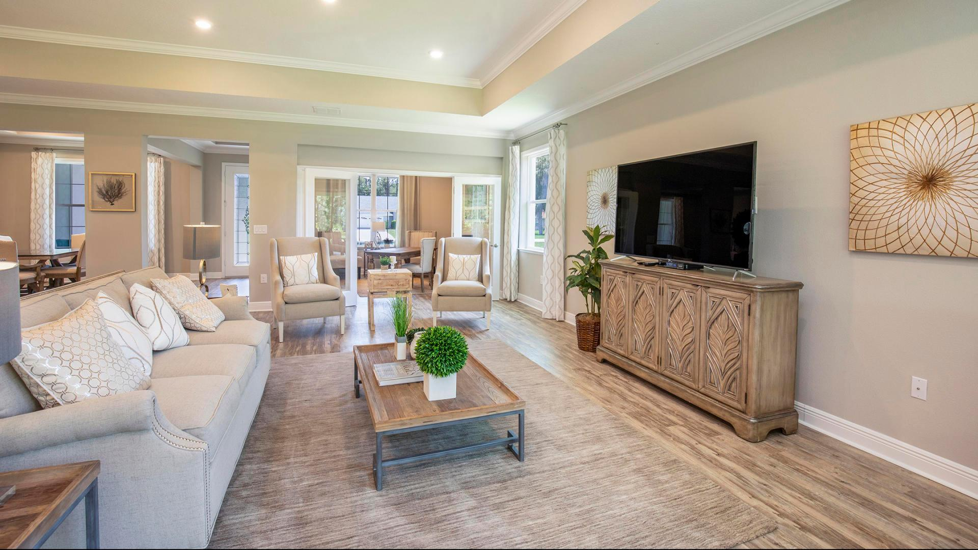 Living Area featured in the Sienna By Maronda Homes in Melbourne, FL