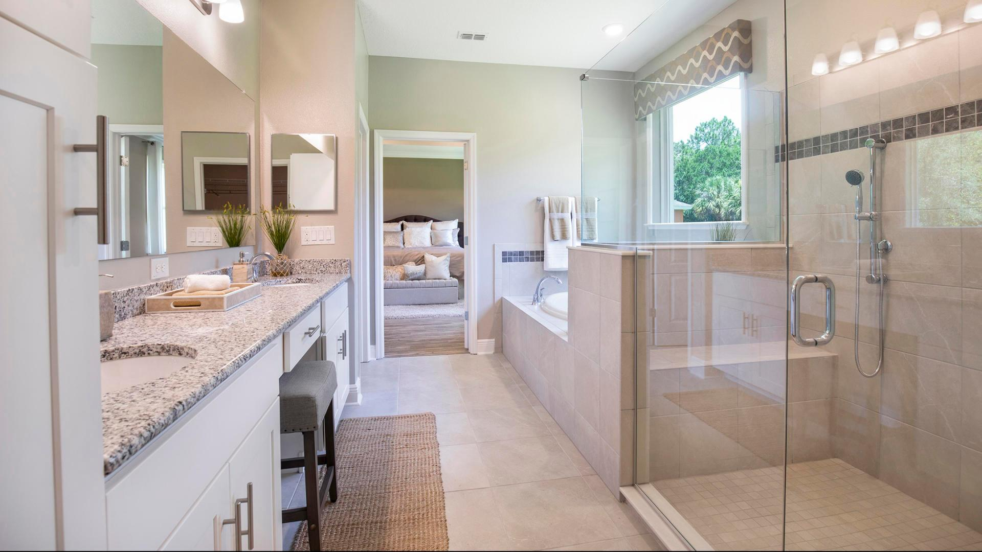 Bathroom featured in the Sienna By Maronda Homes in Melbourne, FL