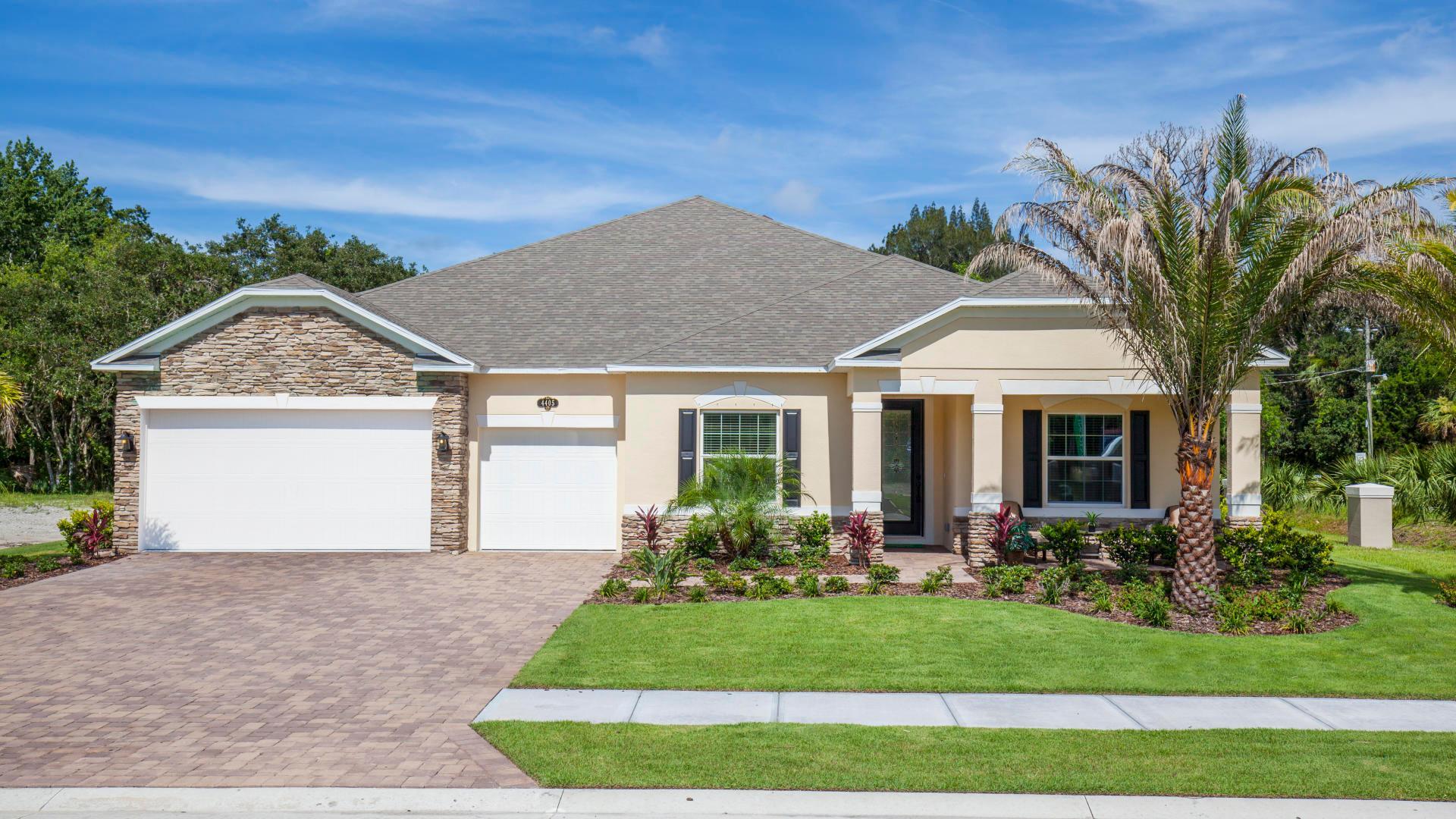 Exterior featured in the Livorno By Maronda Homes in Daytona Beach, FL