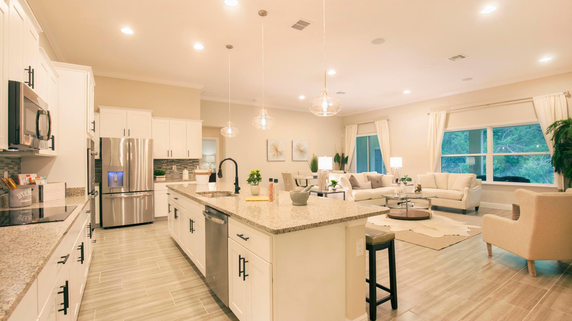 Kitchen featured in the Livorno By Maronda Homes in Melbourne, FL