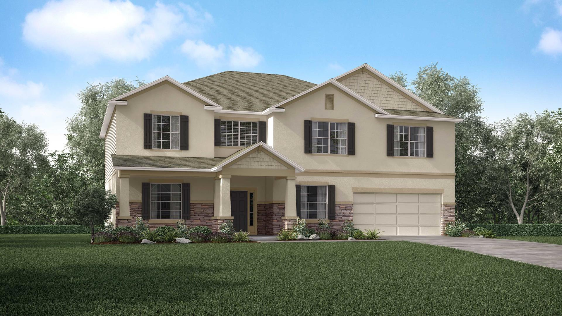 Exterior featured in the Westfield By Maronda Homes in Tampa-St. Petersburg, FL