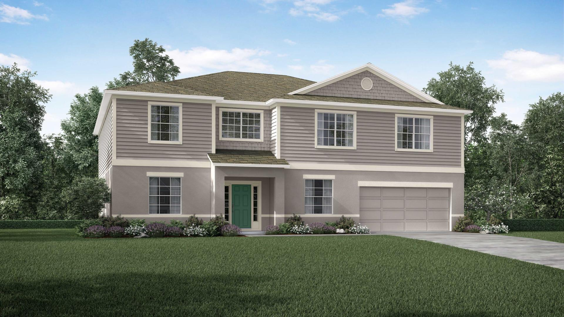 Exterior featured in the Westfield By Maronda Homes in Daytona Beach, FL