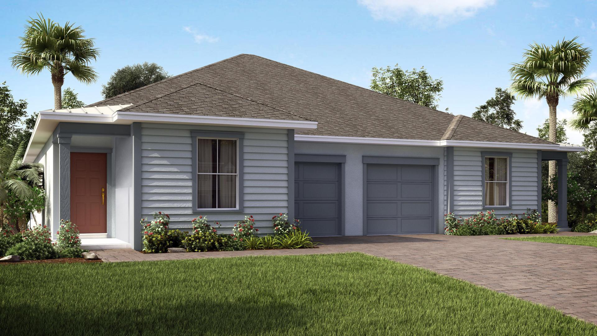 Exterior featured in the Jasmine By Maronda Homes in Indian River County, FL
