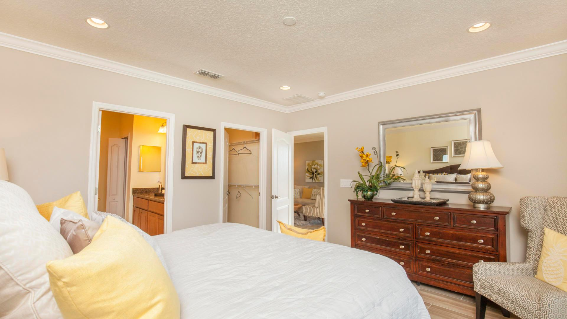Bedroom featured in the Hibiscus By Maronda Homes in Indian River County, FL