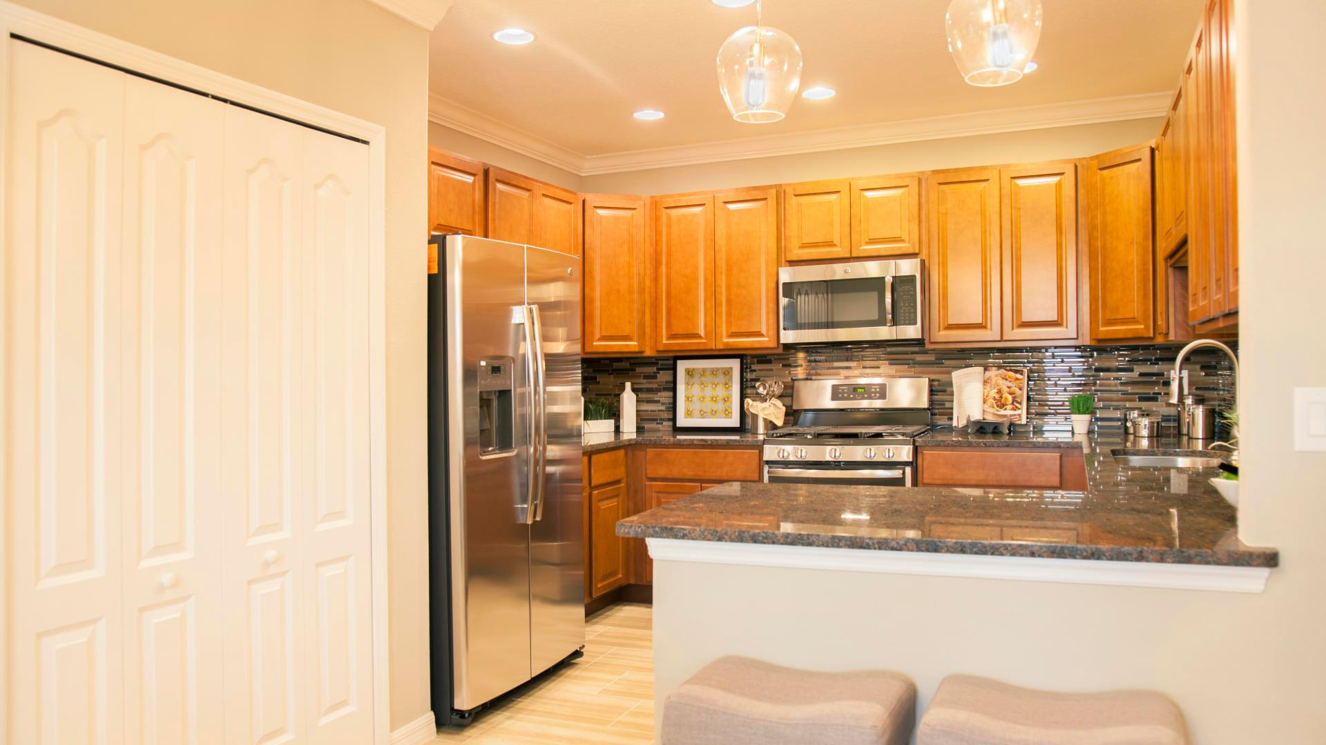 Kitchen featured in the Hibiscus By Maronda Homes in Indian River County, FL