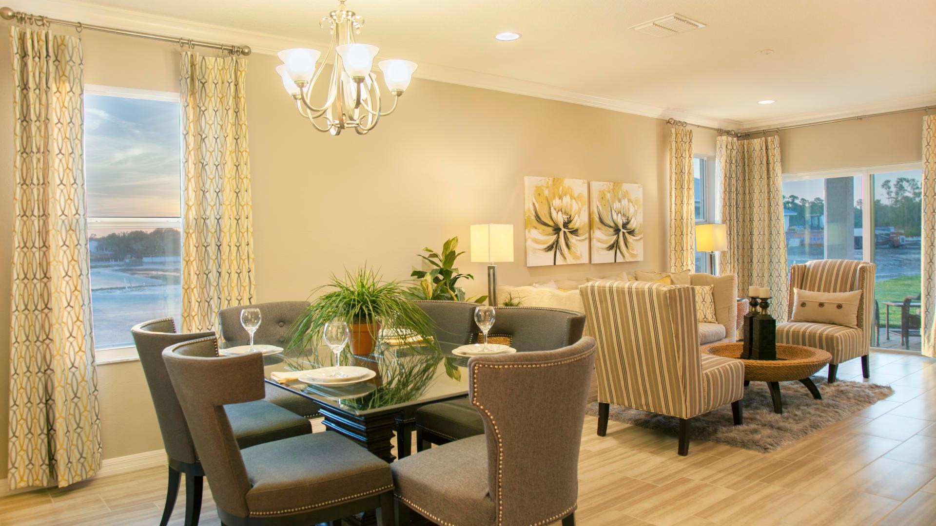 Living Area featured in the Hibiscus By Maronda Homes in Indian River County, FL