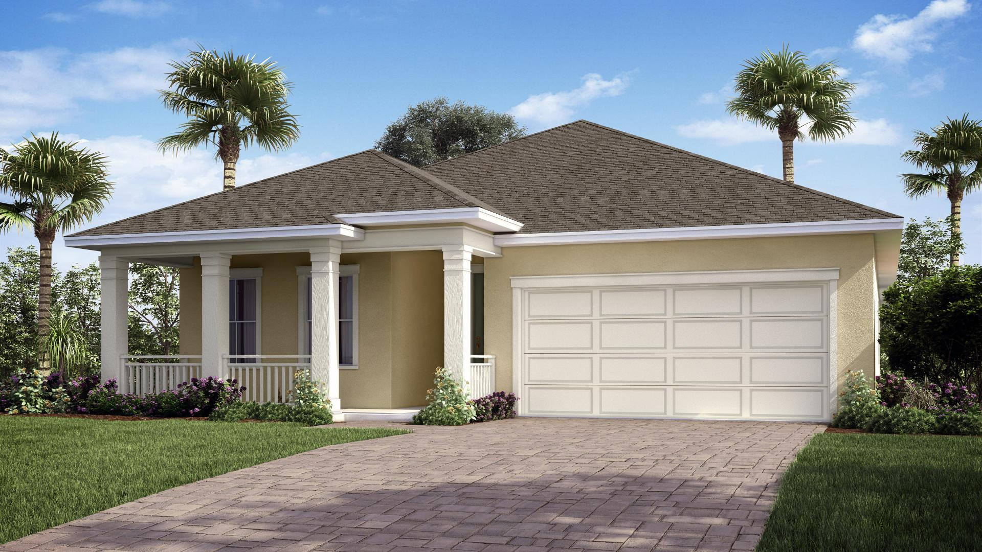 Exterior featured in the Jensen By Maronda Homes in Indian River County, FL