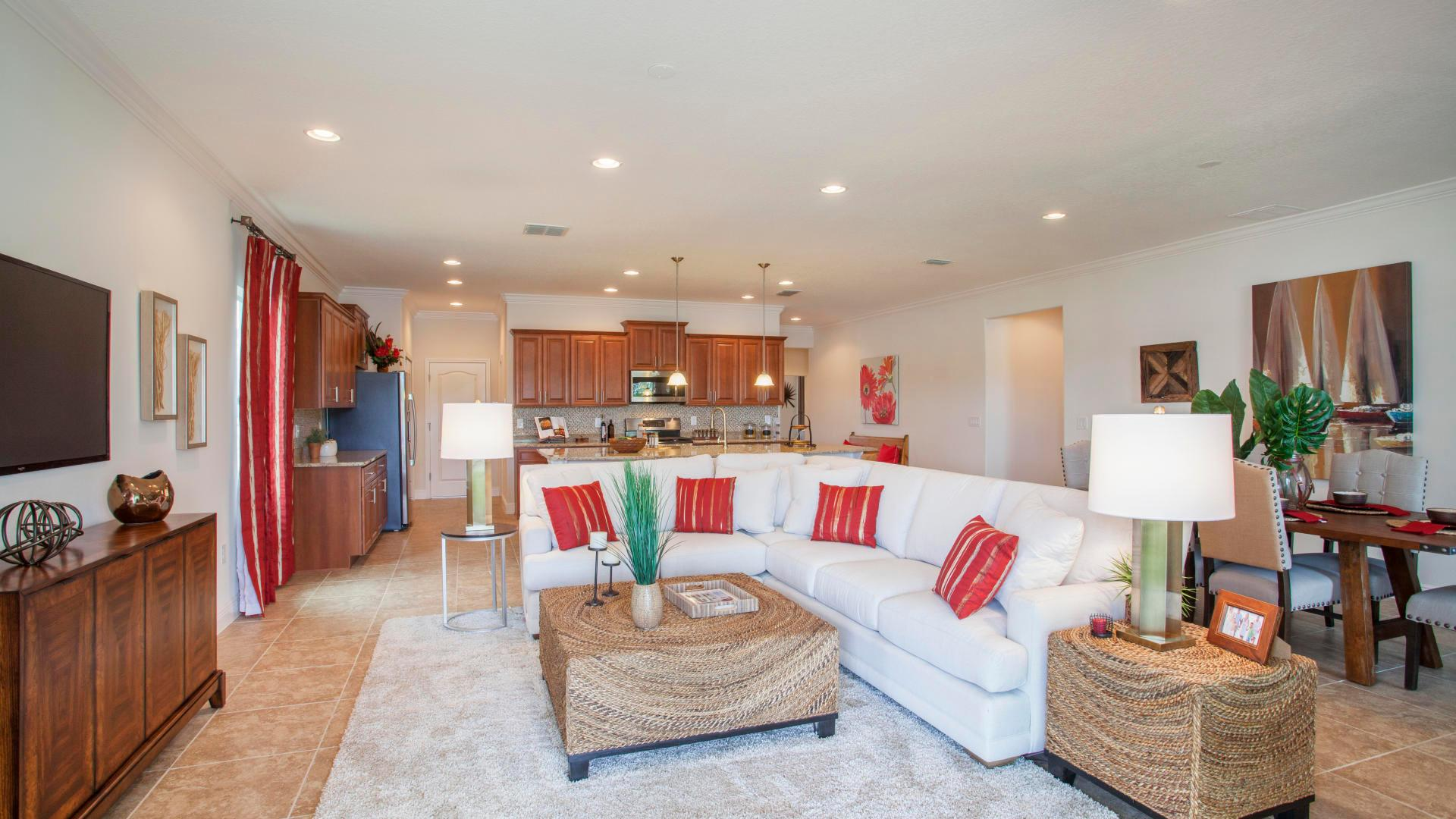 Living Area featured in the Jensen By Maronda Homes in Indian River County, FL
