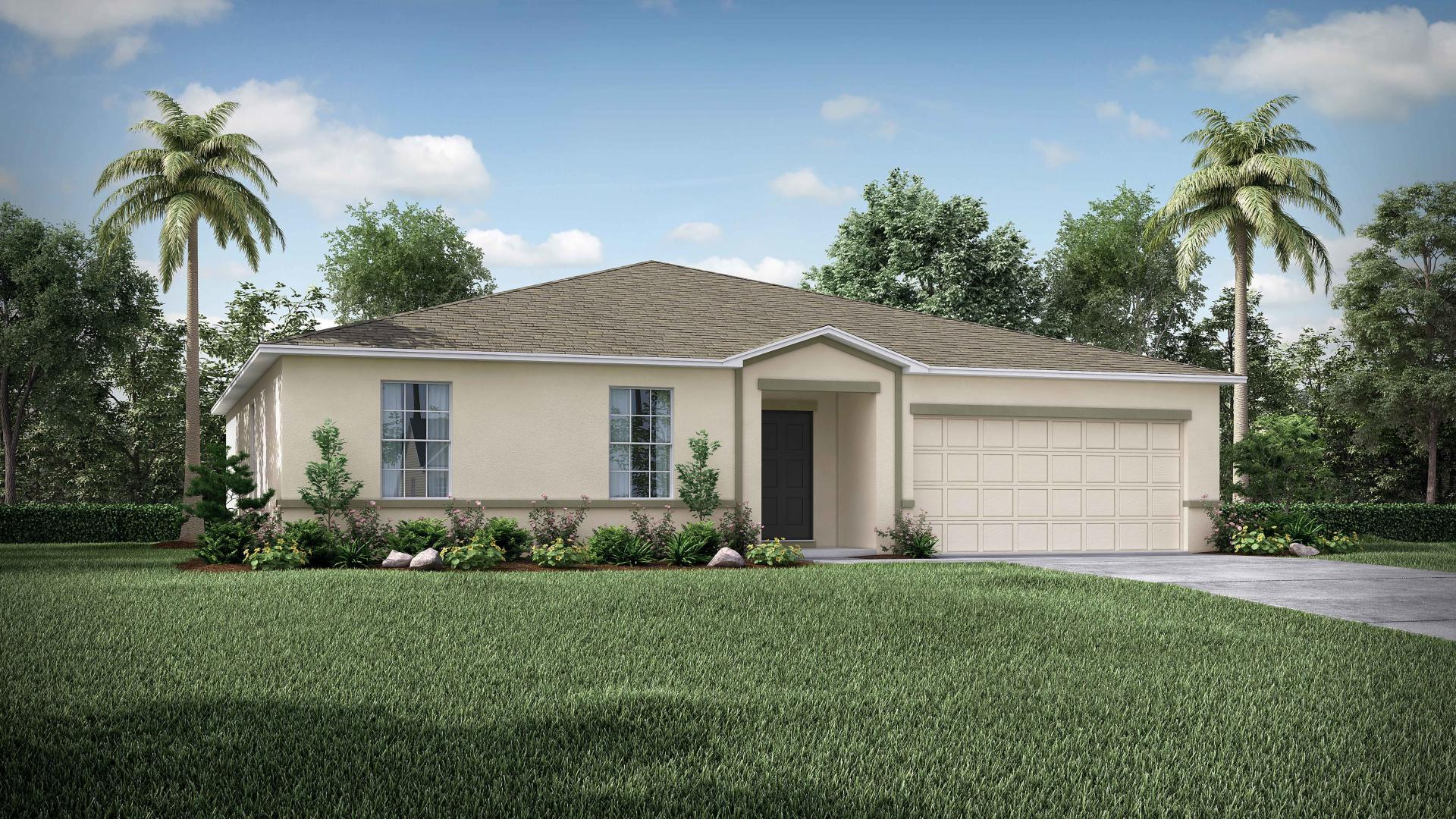 Exterior featured in the Mesquite By Maronda Homes in Daytona Beach, FL