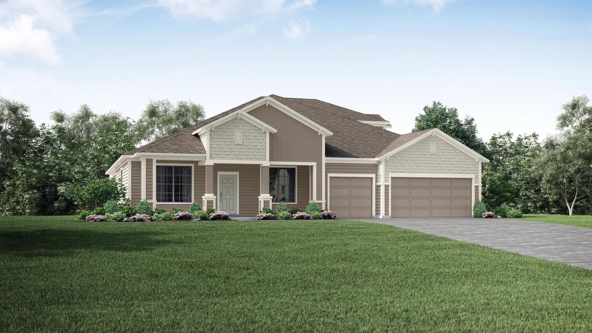 Exterior featured in the Sienna By Maronda Homes in Gainesville, FL