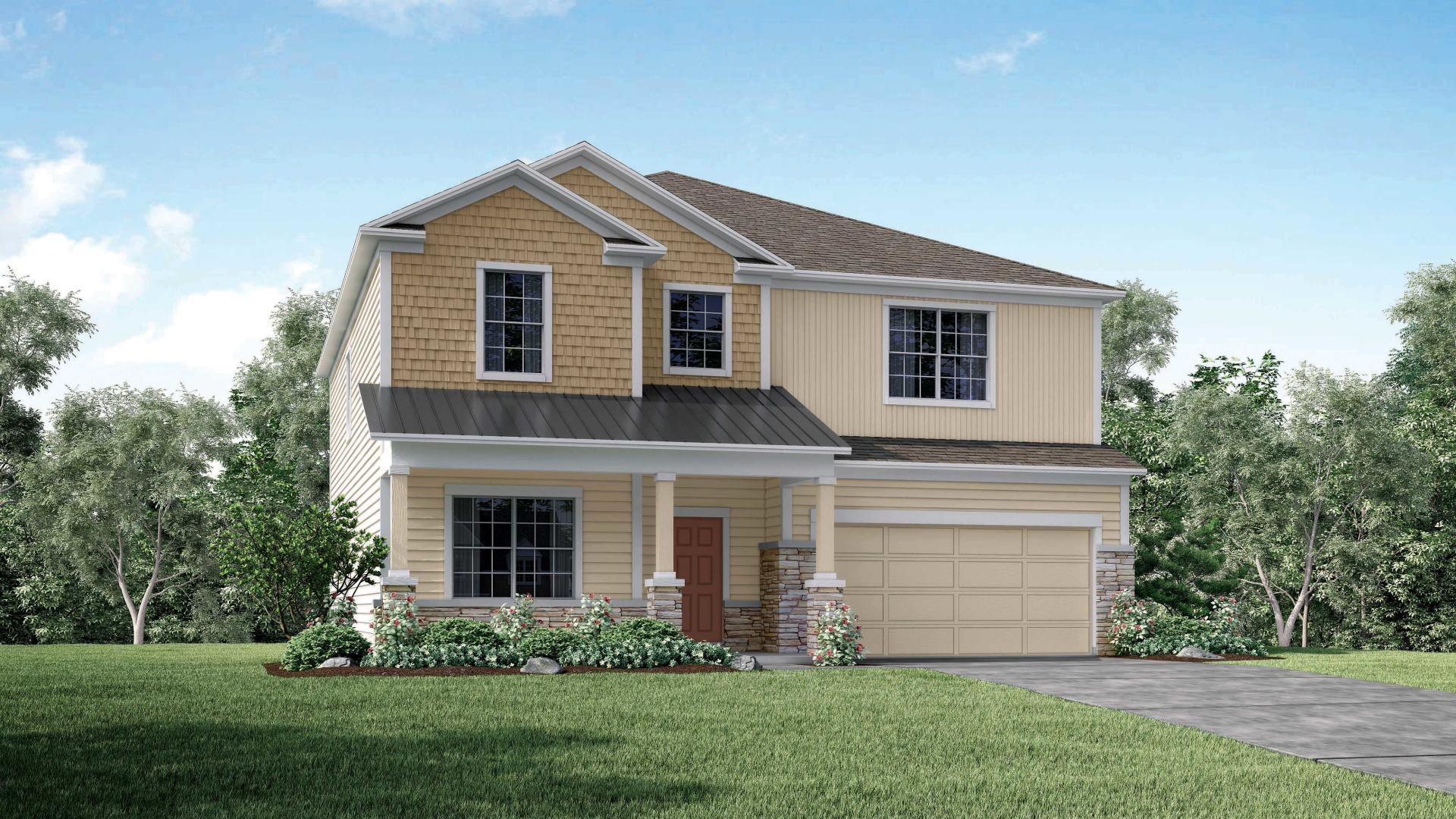 Exterior featured in the Carlisle By Maronda Homes in Jacksonville-St. Augustine, GA