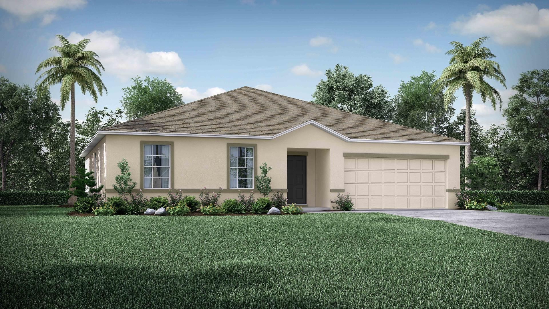 Exterior featured in the Mesquite By Maronda Homes in Indian River County, FL